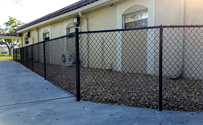chain link fence delray beach florida
