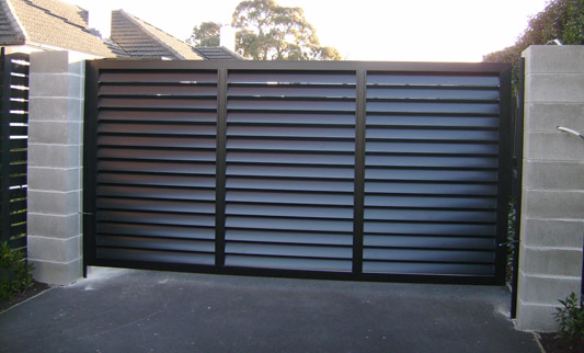 Residential Amp Commercial Gate Projects Bulldog Fence Florida